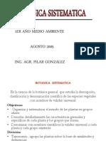 Botanica Sistematologia