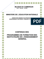 Programme Des Enieg Au Cameroun(3)