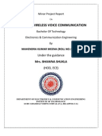 wirelesss infra red communication through ir led