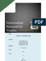 Cientifismo, Cientificidad y Tesis