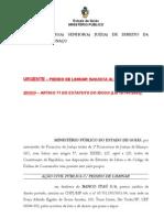 Acao Civil Publica Com Pedido de Liminar Idoso x Banco Itau - Minacu - Go 1