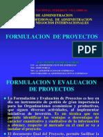 1. Formulacion de Proyectos. - 2012