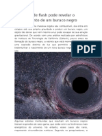Novo Tipo de Flash Pode Revelar o Nascimento de Um Buraco Negro
