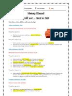 History Edexcel Notes