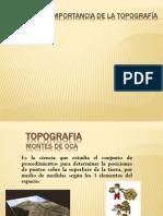 1.-Definicion e Importancia de La Topografia