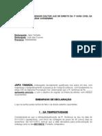Embargos_Declaração modelo