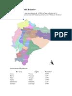 División política de Ecuador