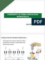 CORRIENTE ALTERNA SINUSOIDAL MONOFÁSICA (IV)1