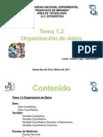 Tema 1.2 Organizaci+¦n de datos