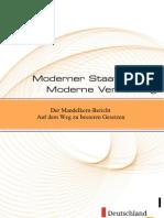 Moderner Staat Mandelkern Bericht