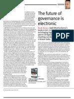 """Book Review of """"E-Gov 2.0"""""""
