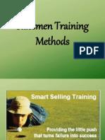 Salesmen Training Methods