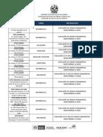 ANEXO II - Lista Unidade e Pre Requisitos (1)