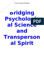 Bridging Psychological Science and Transpersonal Spirit.doc