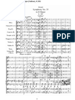Mozart - Symphony No 35 in D Major Haffner K385