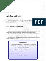 Algebra Lineal - Matrices