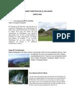 Lugares turísticos de El salvador Y EL MUNDO.docx