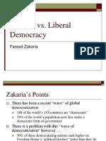 Illiberal vs Liberal Democracy