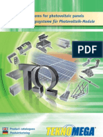 Fixing Systems for Photovoltaic Panels en D