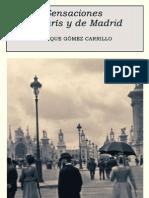 Enrique Gomez Castillo - Sensaciones de Paris y Madrid