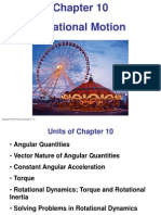 PSE4_Lecture_Ch10 - Rotational Motion