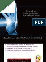 Desarrollo Estrategico de Productos y Servicios 2013