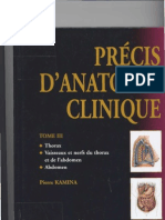 Kamina THORAX Anatomie Clinique Fumed