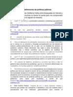 60 definiciones de pol+¡ticas p+¦blicas
