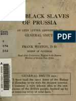 Weston - The Black Slaves of Prussia (1918)
