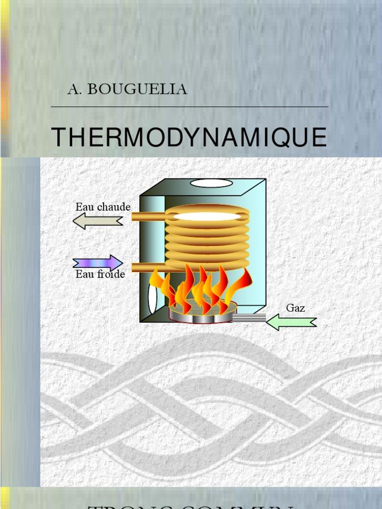 Ebook a bouguella thermodynamique for Table thermodynamique de l eau