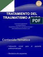 Atención Integral al pacientes Politraumatizado