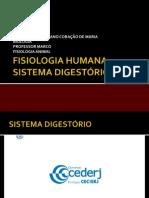 Fisiologia Humana - Sistema Digestorio