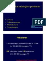 Staff médecine méningite