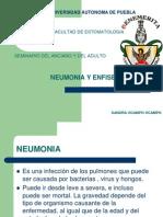 Neumonia y Enficema