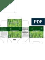 Kenzen Jade GreenZymes Box - US (Supplement Facts / Datos de Nutrici