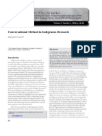 Conversational Method in Indigenous Research _ Kovach
