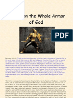 The Truth About... Putting on The Whole Armor of God