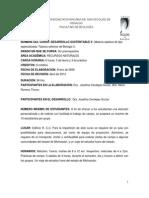 Programa Desarrollo Sustentable II, TSBI