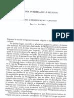 Sádaba Javier - Filosofía d la religión en Wittgenstein - cap