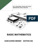 Content Basic Math