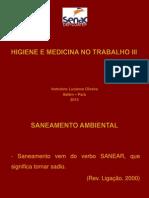 Higiene e Medicina No Trabalho III - Luzianne