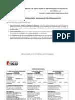 PLAN DE ELABORACIÓN MATERIALES DIDÁCTICOS