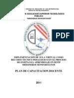 Plan de Capacitacion Aulas Virtuales 2011