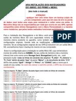 Manual de  Instalação dos  Navegadores e Menu.docx