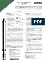 ATAS-120 Instruction Sheet
