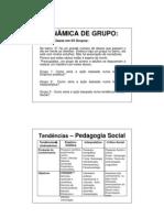 Dinamica Grupo Marisa Manuel Pedagogia Social