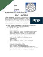 health syllabus 2012-13