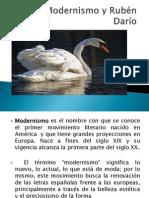 El Modernismo y Rubén Darío.pptx