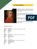 Libreto - La flauta mágica (MOZART)