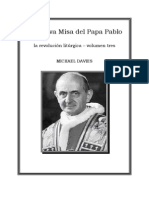 La Misa Del Papa Pablo